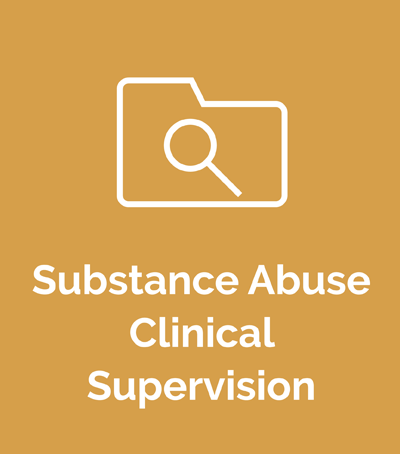 Substance Abuse Clinical Supervision